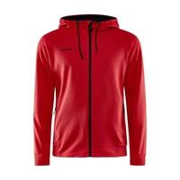 Craft ADV Unify Full Zip Hood, heren, Bright Red