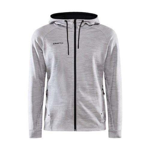 Craft Craft ADV Unify Full Zip Hood, heren, Grey Melange