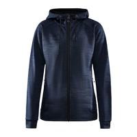 Craft ADV Unify Full Zip Hood, dames, Blaze Melange