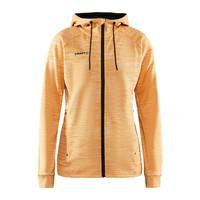 Craft ADV Unify Full Zip Hood, dames, Tiger Melange