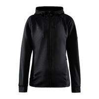 Craft ADV Unify Full Zip Hood, dames, Black