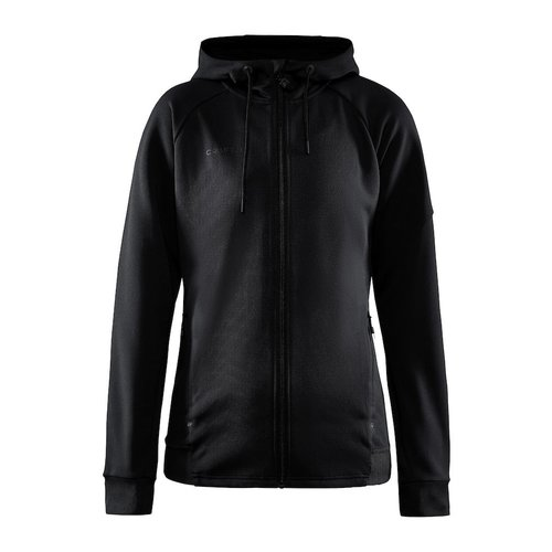 Craft Craft ADV Unify Full Zip Hood, dames, Black