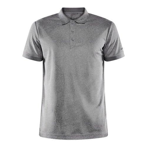 Craft Core Unify Poloshirt, heren, Dark Grey Melange