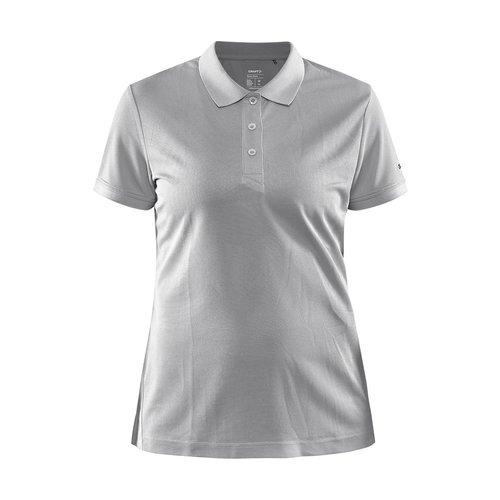 Craft Core Unify Poloshirt, dames, Grey Melange