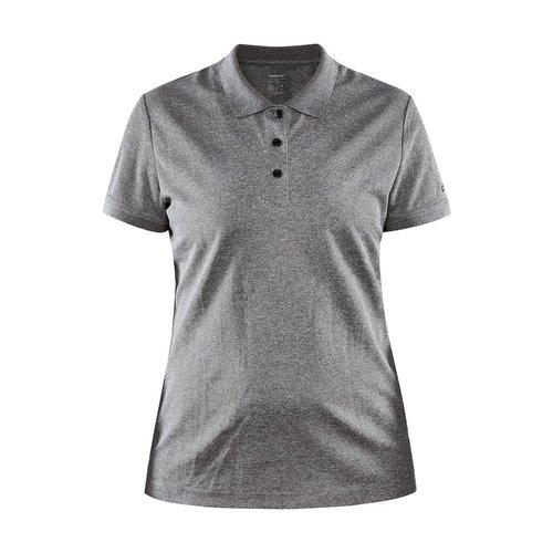 Craft Core Unify Poloshirt, dames, Dark Grey
