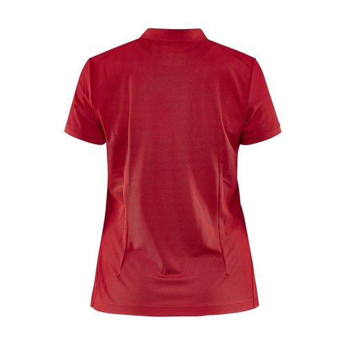 Core Unify Poloshirt, dames, Red