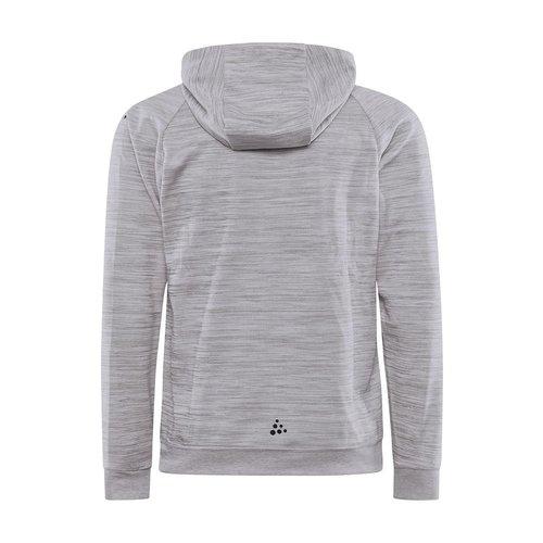 Craft ADV Unify Full Zip Hood, heren, Grey Melange
