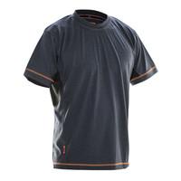 Jobman 5595, T-shirt Dry-tech™ Merino Wool, heren, zwart