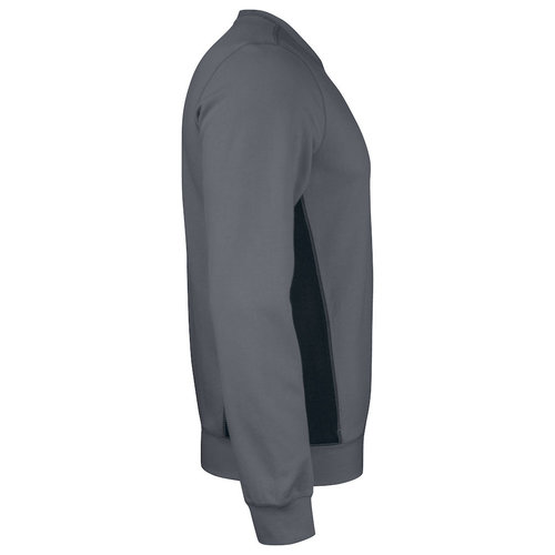 Jobman 5402, Roundneck Sweatschirt, heren, Donkergrijs