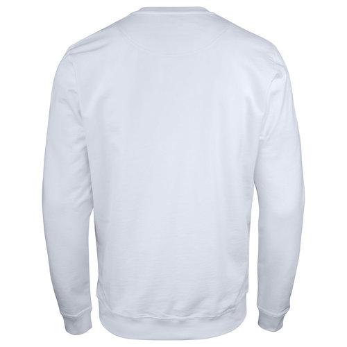 Jobman 5120, Roundneck Sweatshirt, heren, wit
