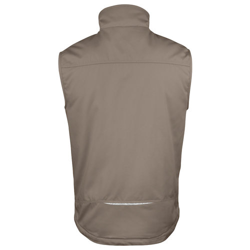 Jobman 7517, Gevoerde Service Bodywarmer, heren, Khaki