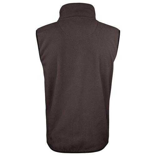 Jobman 7501, Fleece Bodywarmer, heren, Bruin