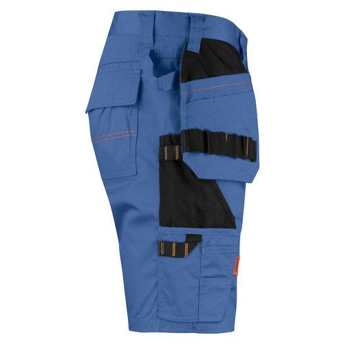 Jobman 2722, Korte werkbroek, heren, hemelsblauw/zwart