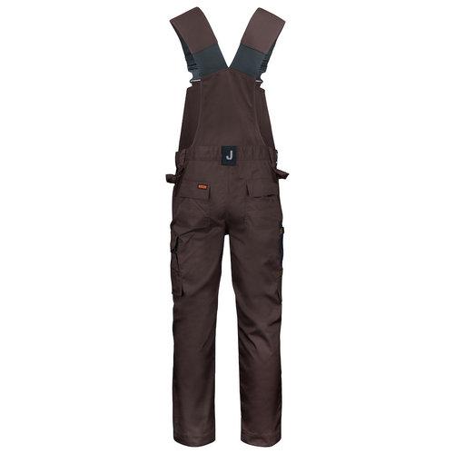 Jobman 3730,  Werk Tuinbroek, heren, Bruin/Zwart