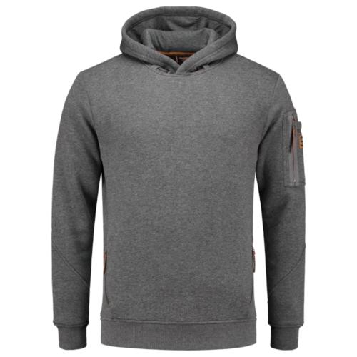Tricorp,  Sweater  Premium Capuchon, heren, Stonemel
