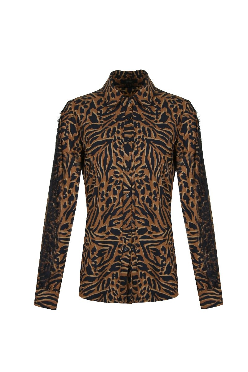 G-Maxx G-Maxx Amalia blouse roest mix
