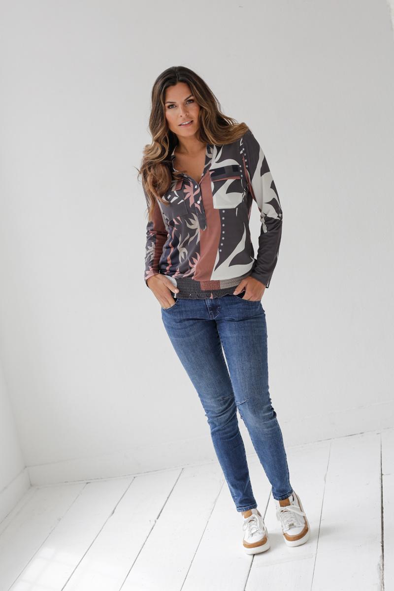 Zoso Zoso blouse Anouk Splendour printed