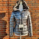 Trendy winterjas twee kanten draagbaar