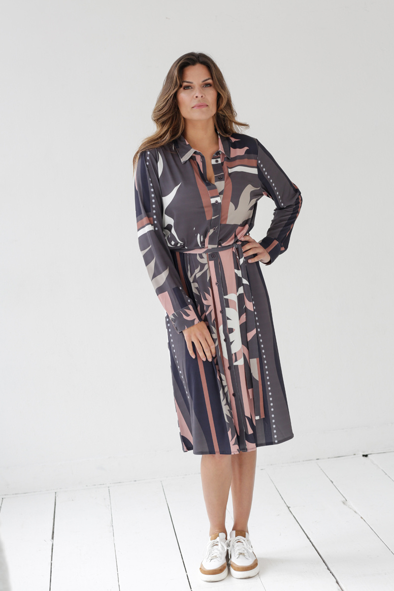 Zoso Zoso jurk Envy Splendour printed