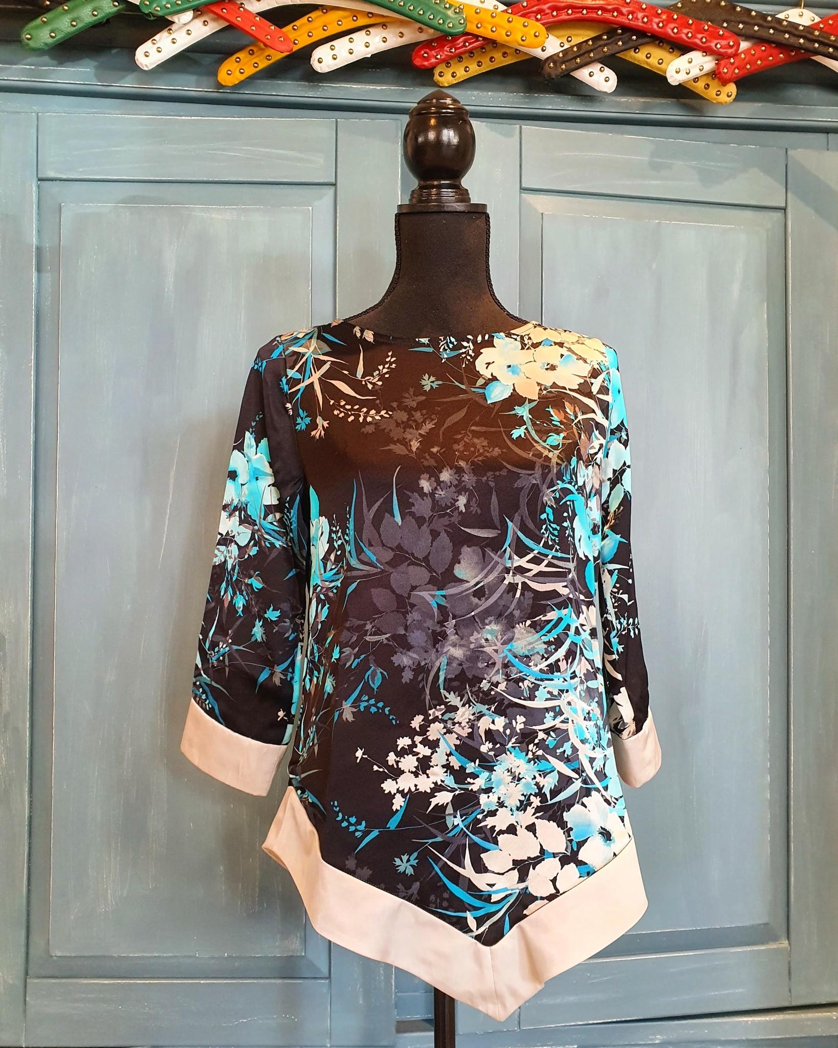 Dayz Dayz blouse Femme black multi