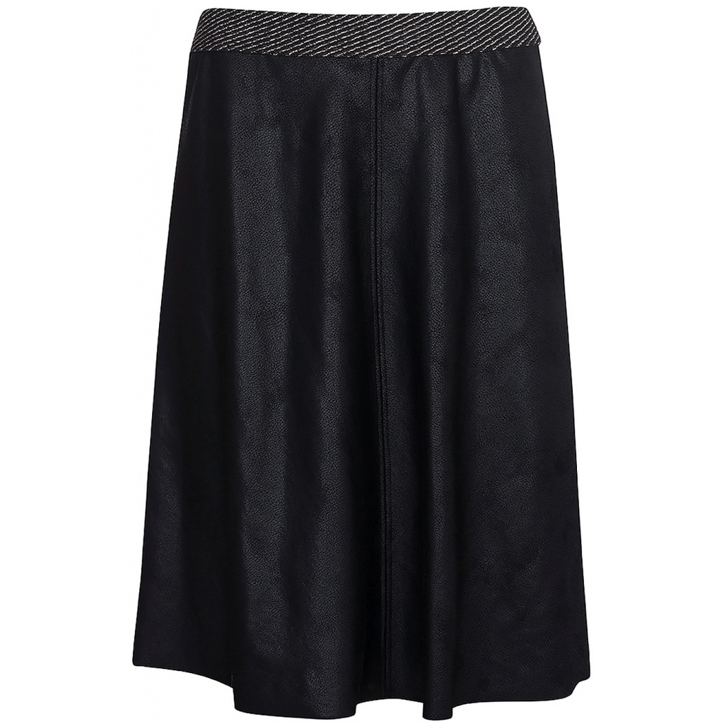 One Two Luxzuz One Two Luxzuz Madelon Coated suède rok