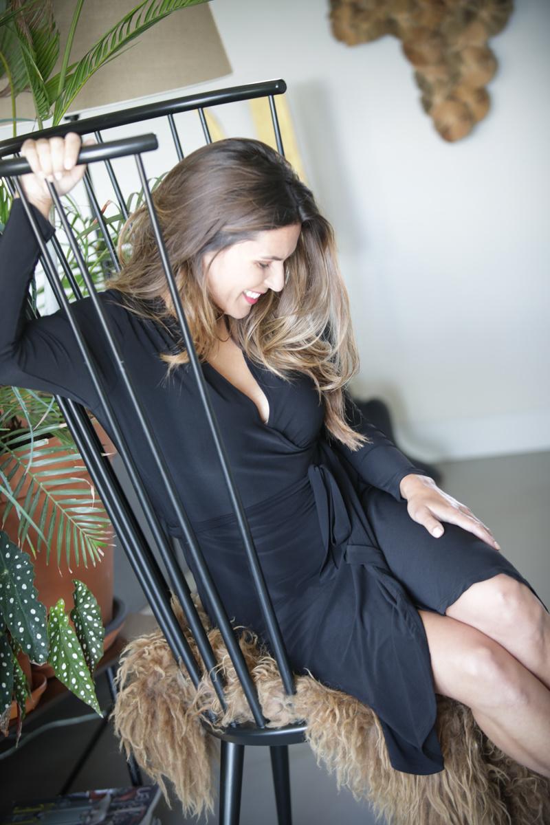 Zoso Zoso Aniek jurk splendour overslag