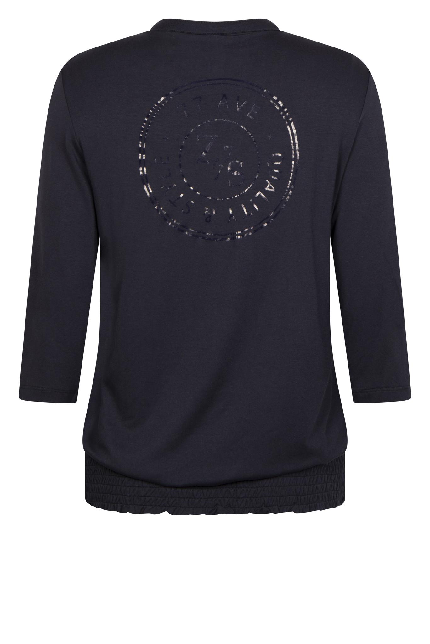 Zoso Zoso blouse Lexi with print navy