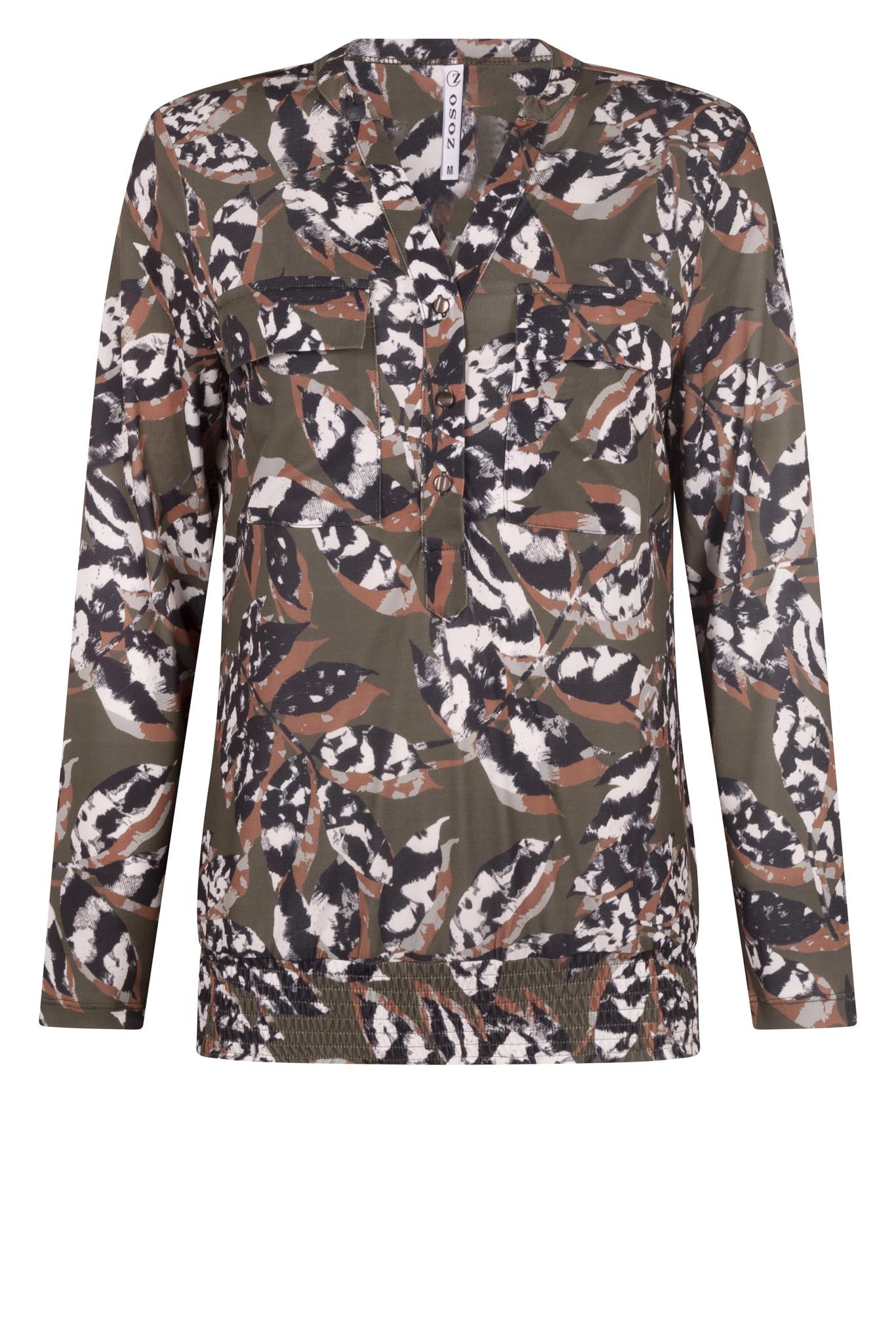 Zoso Zoso Lynn blouse printed splendour
