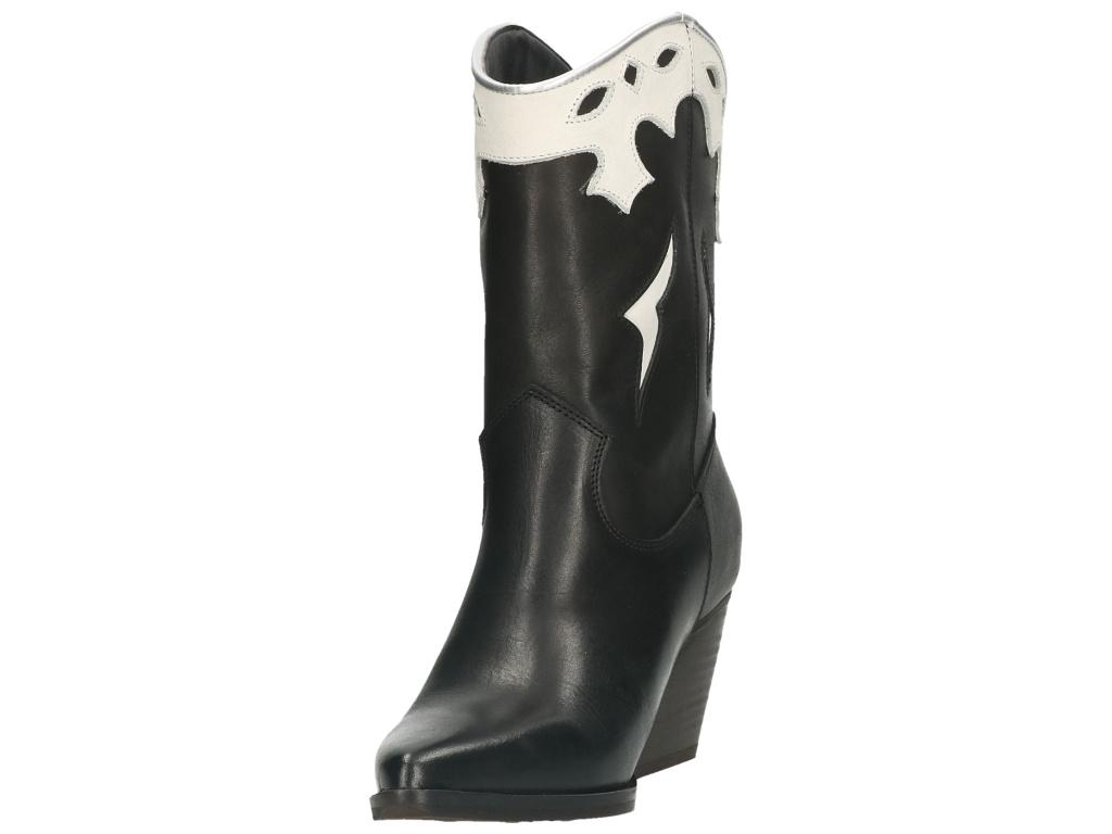 Bullboxer Bullboxer western boots black/white