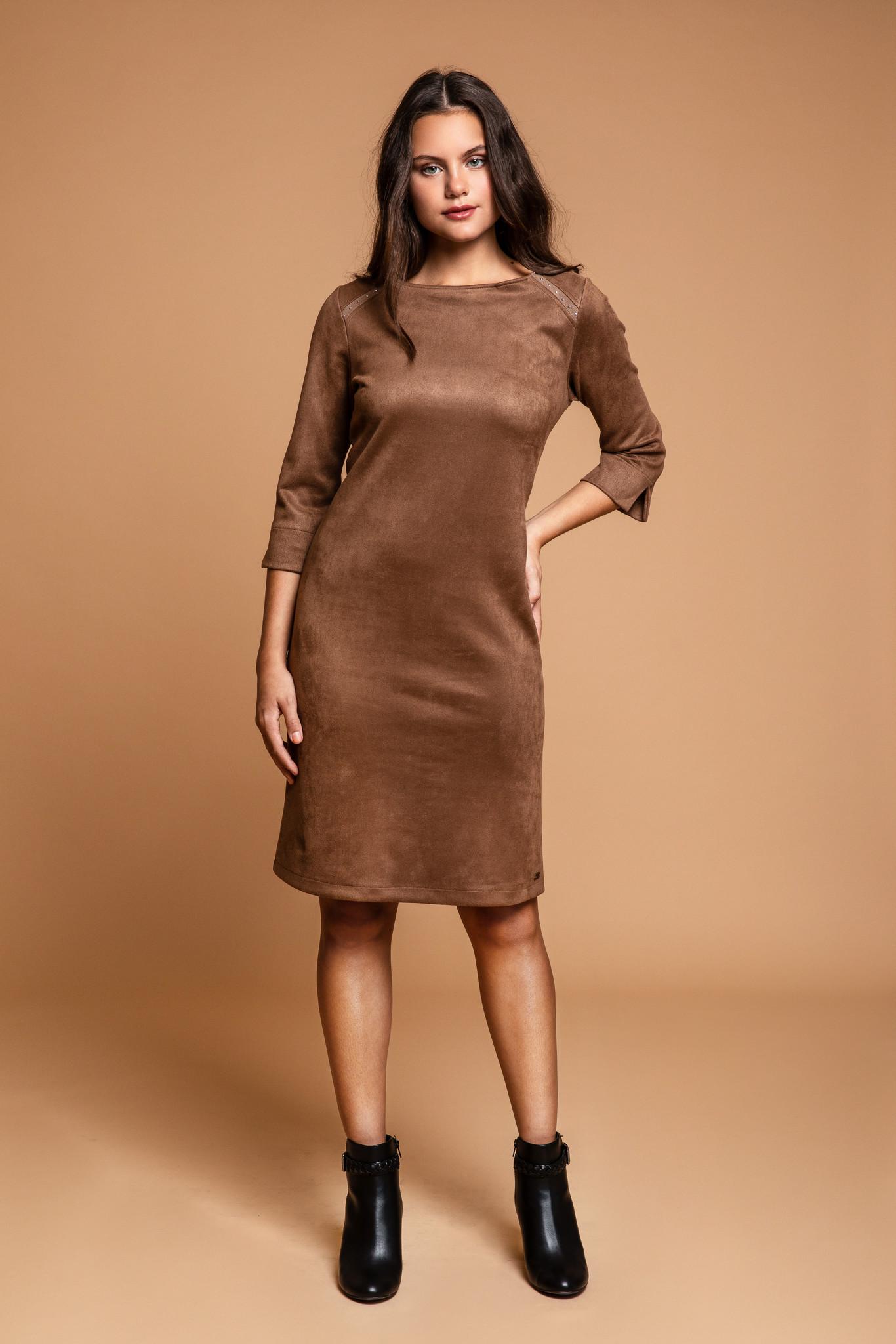 Dayz Dayz jurk Gerry khaki