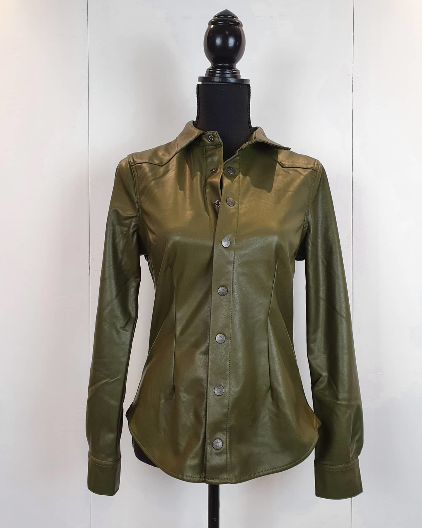 Red Button Red Button blouse PU olive