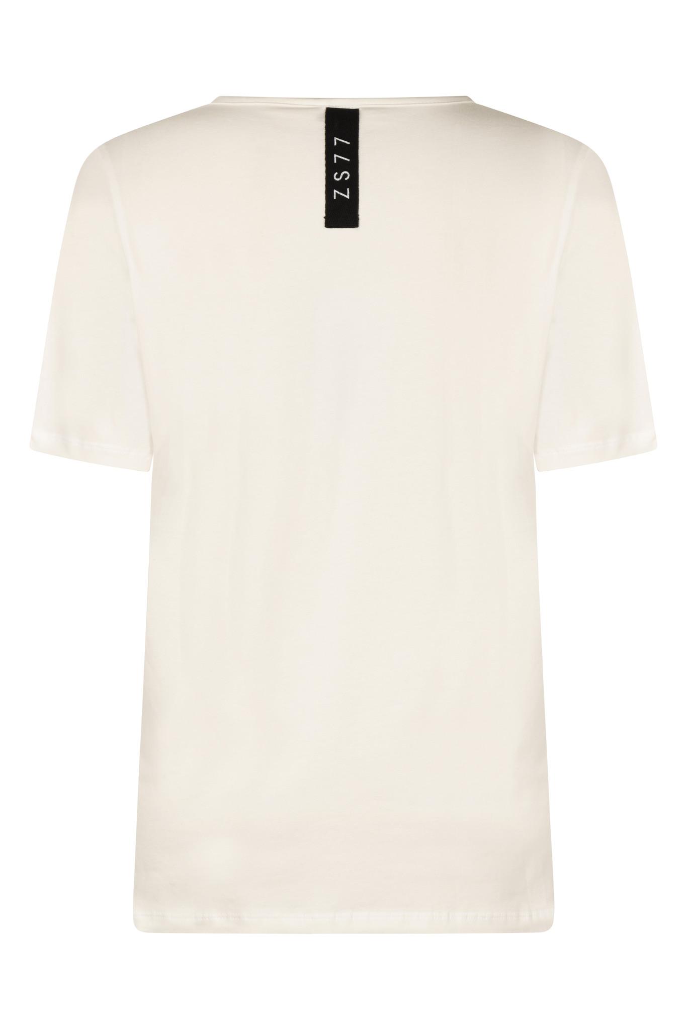 Zoso Zoso Lenny T-shirt  off white