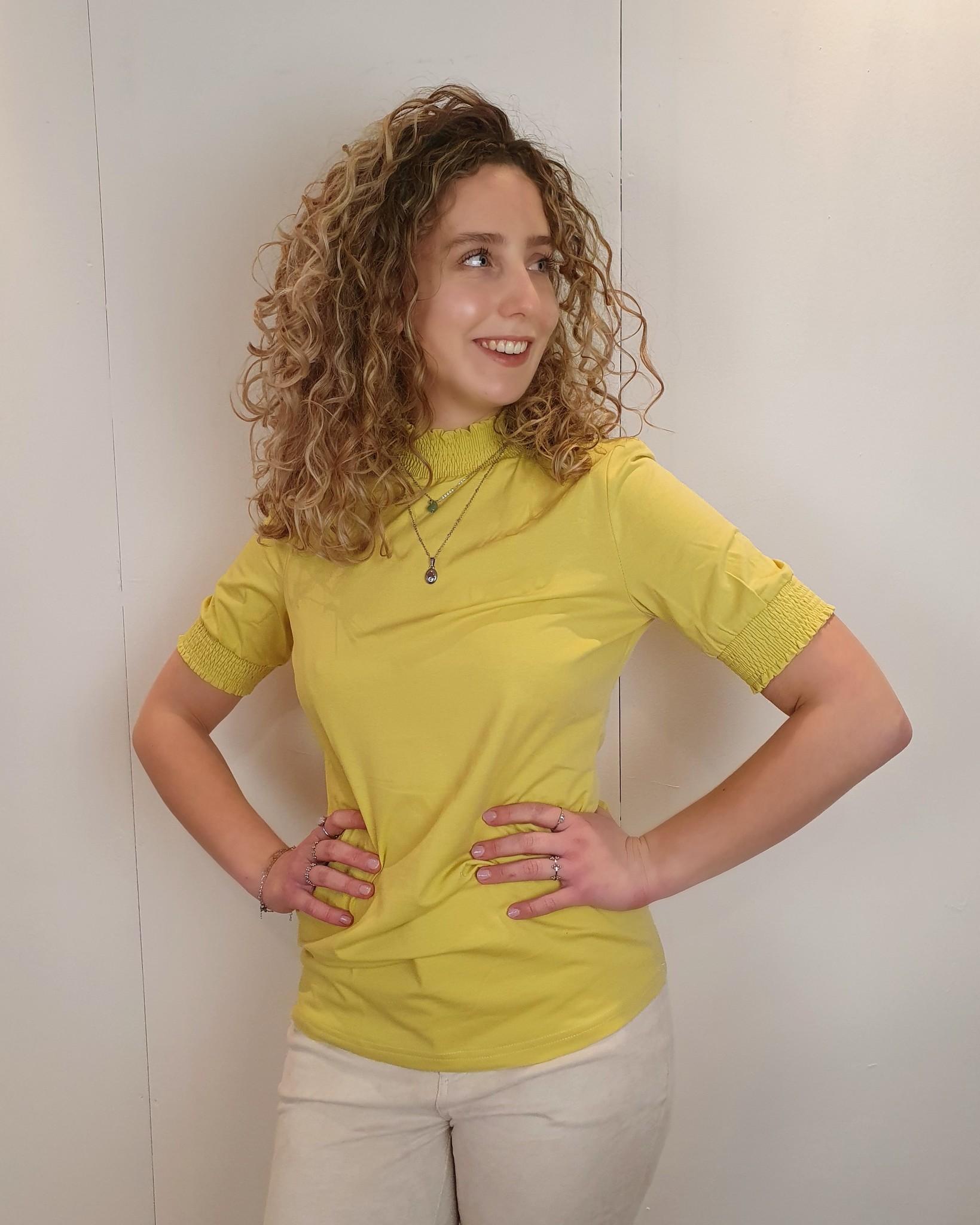 G-Maxx G-Maxx top Emanuelle geel/groen