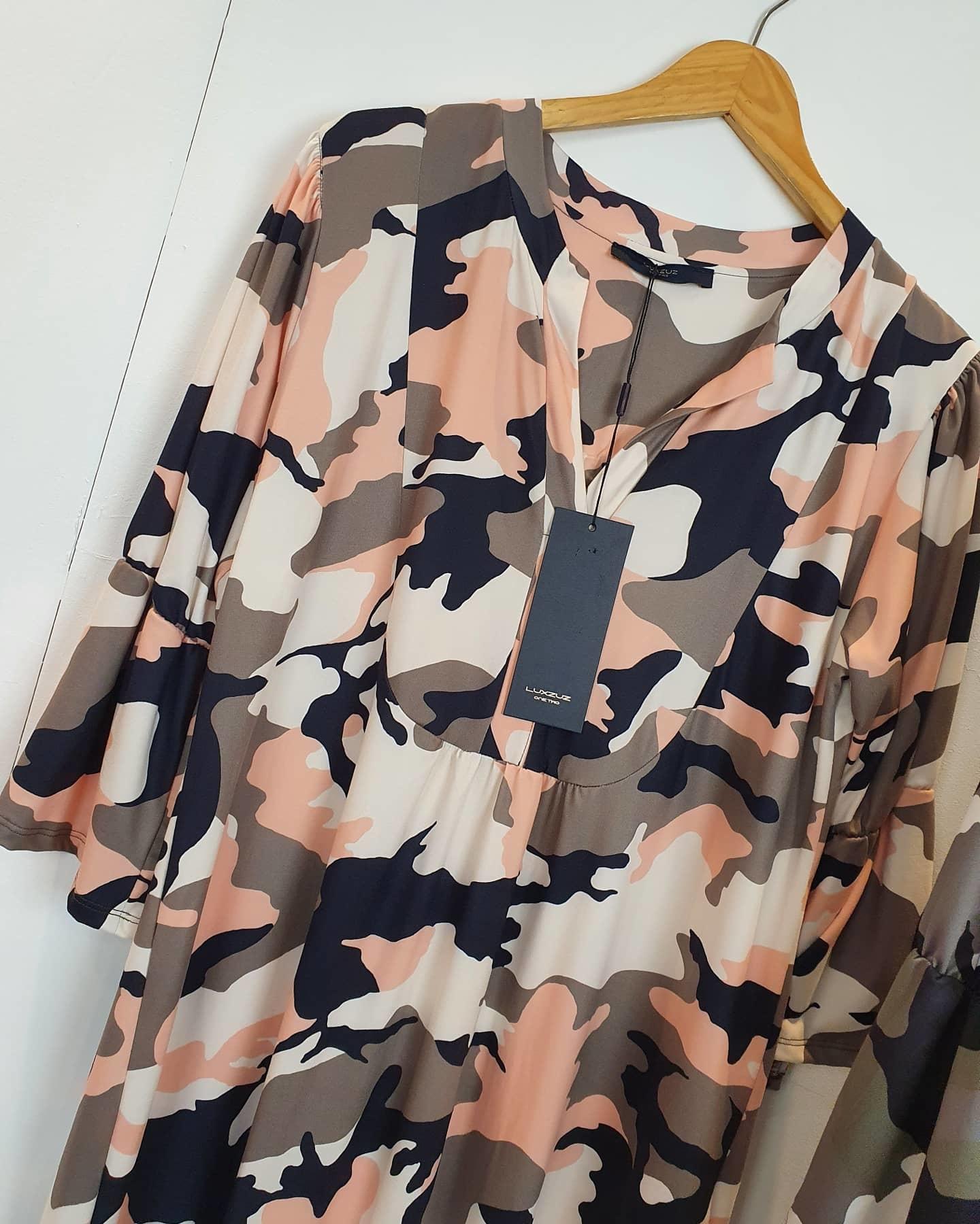One Two Luxzuz One Two Luxzuz Ottomine Dress army roze