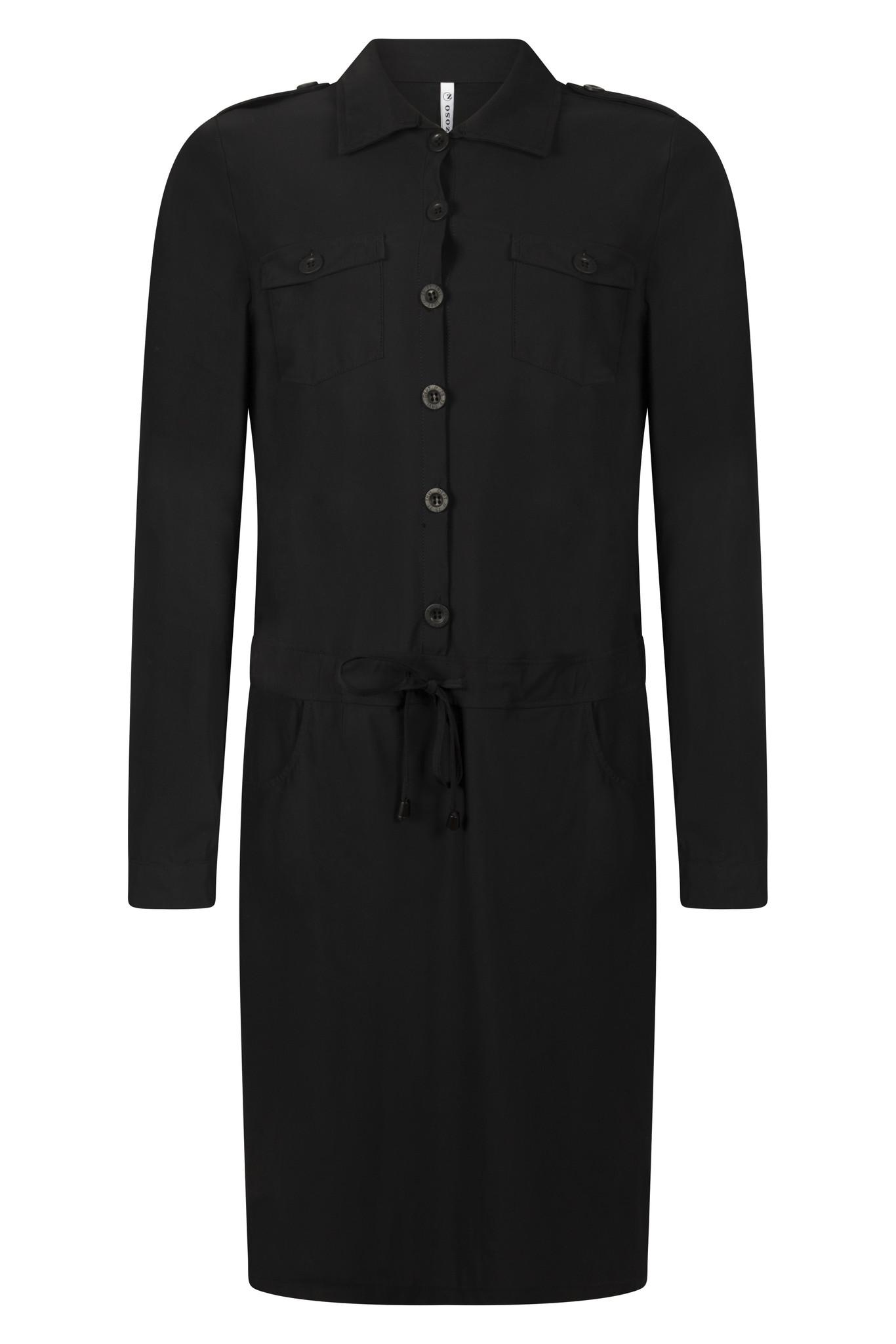 Zoso Zoso Moniek travel dress  Black