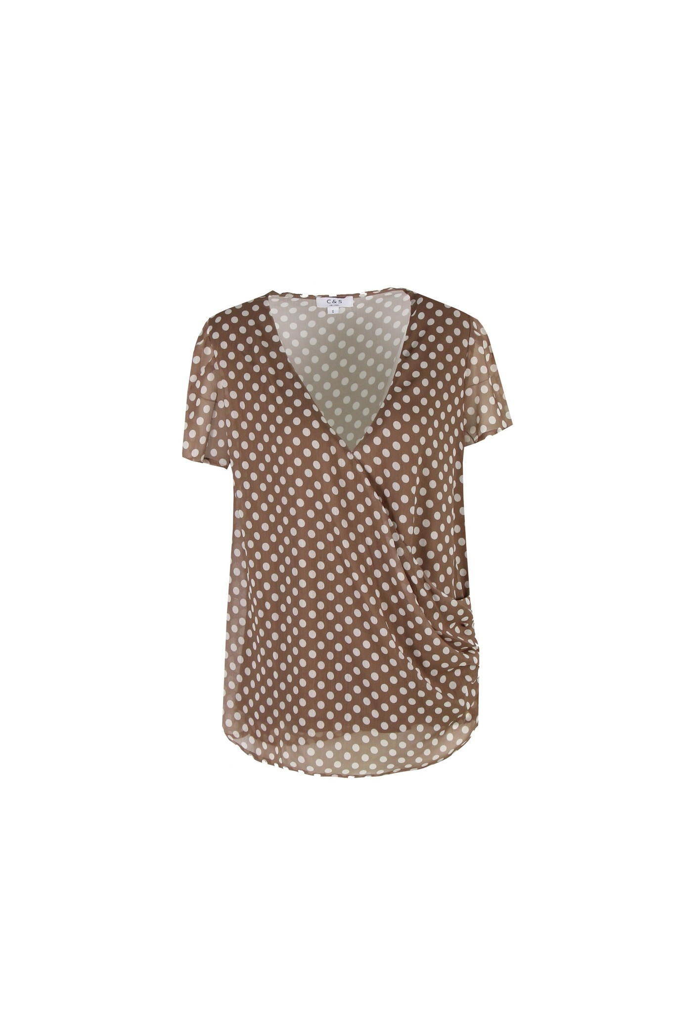 C&S The label C&S The label blouse Inaz Sahara/zand