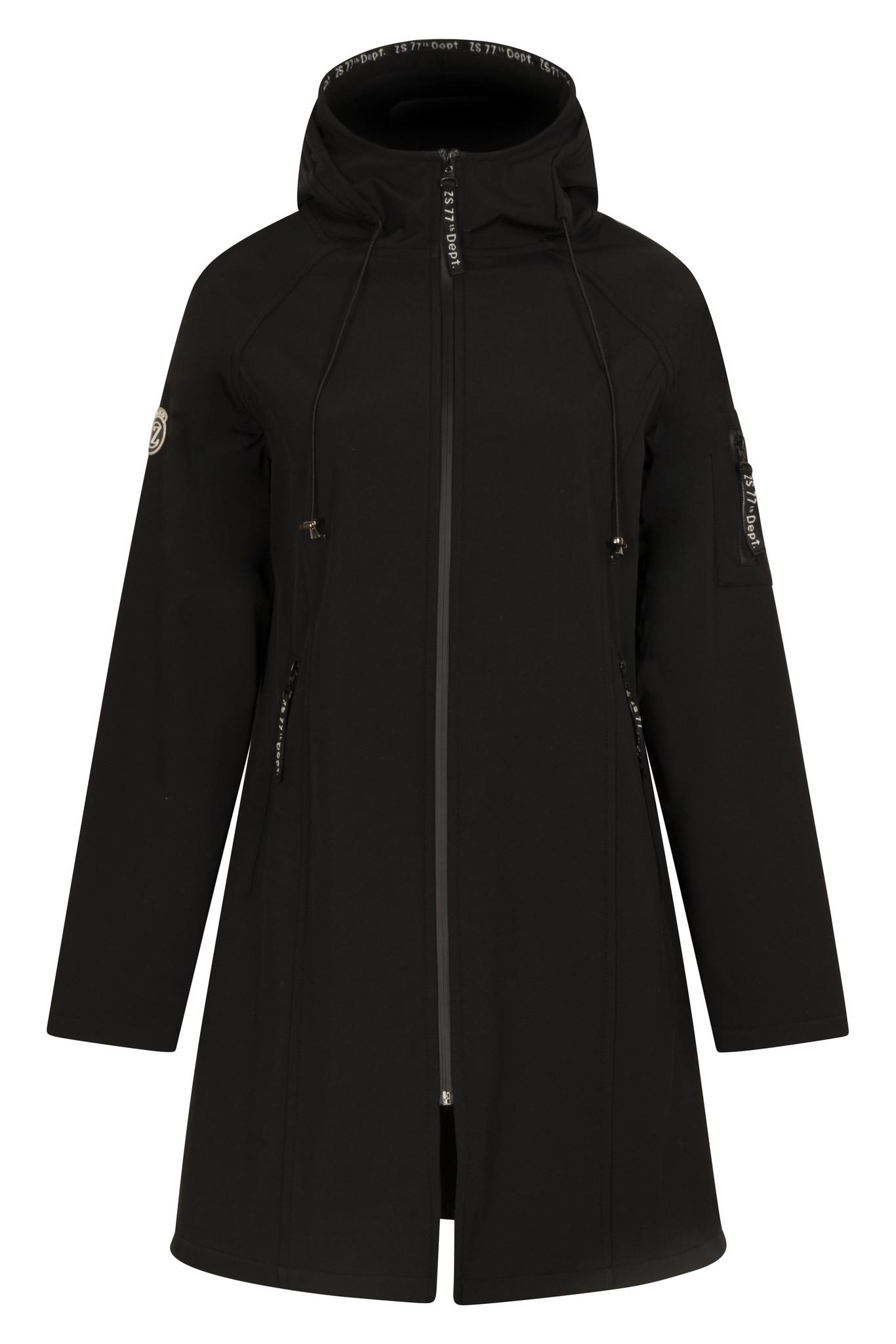 Zoso Zoso Outdoor softshell coat black