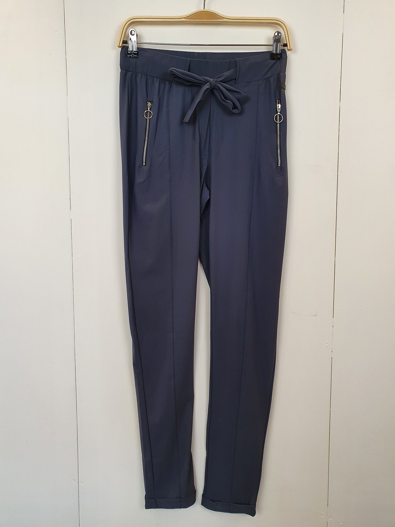 Zoso Zoso Jet travel pant shadow blue