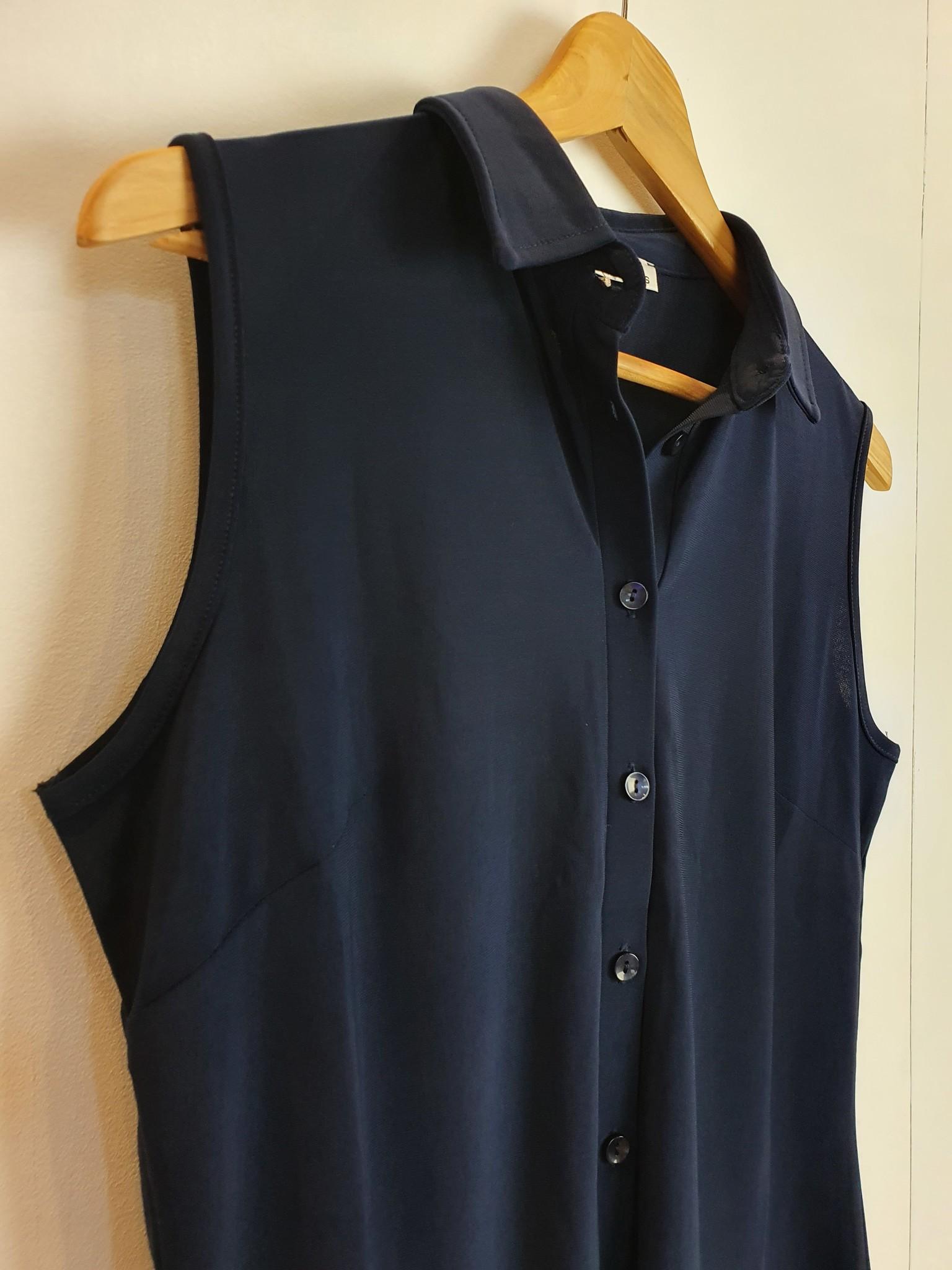 Angelle Milan Angelle Milan navy blouse