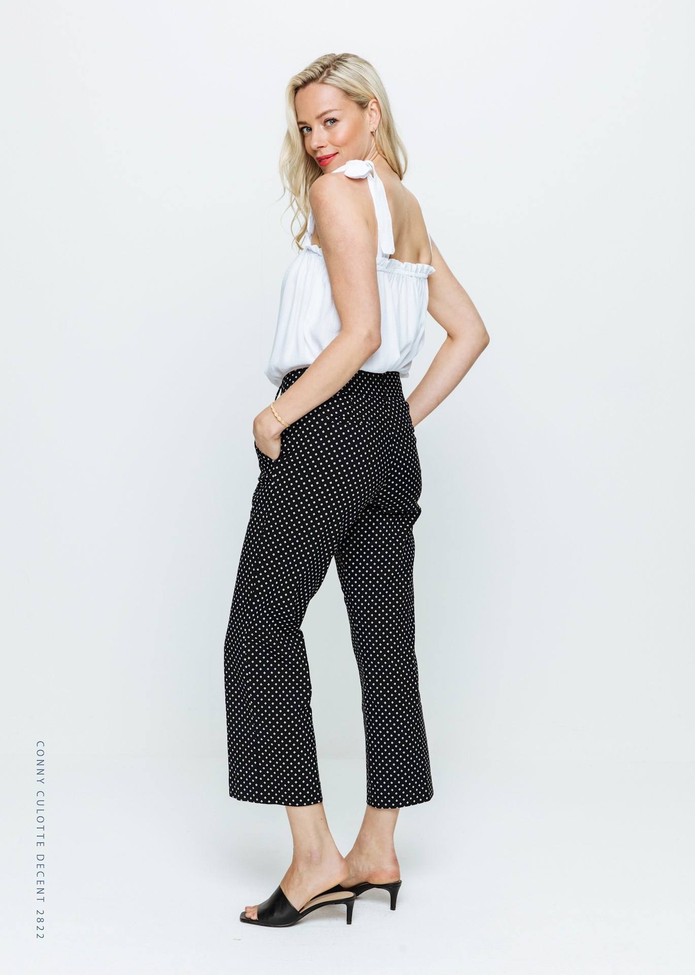 Red Button Red Button Culotte Decent print