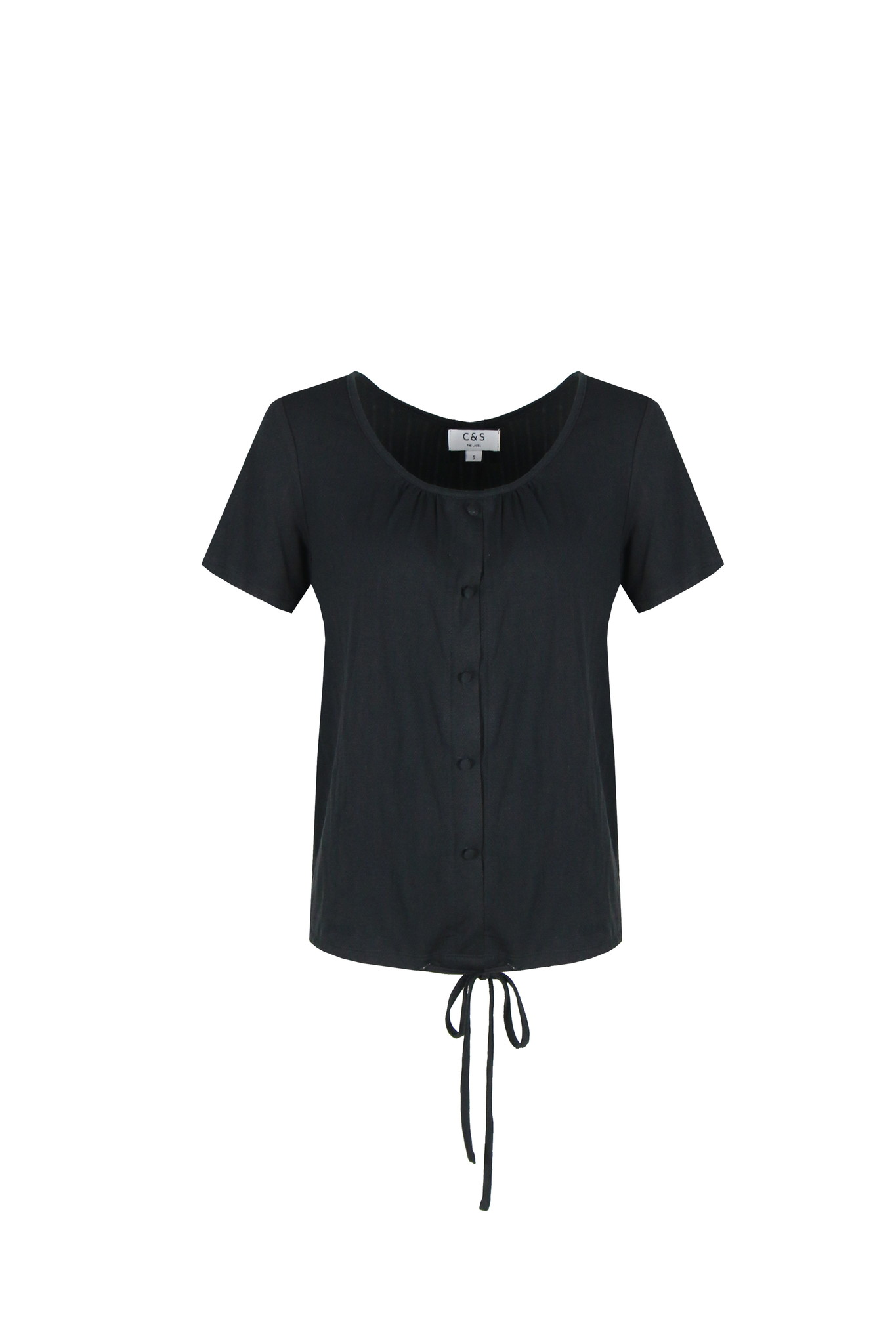 C&S The label C&S The label top Isaura zwart
