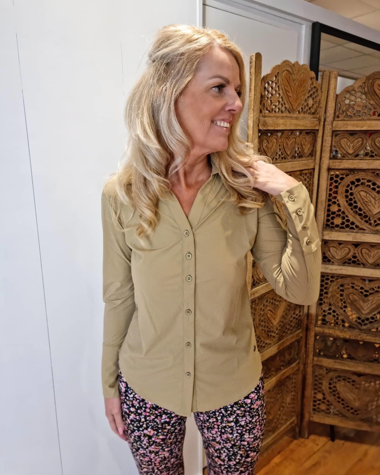 My Pashion My Pashion blouse Shantionea khaki light