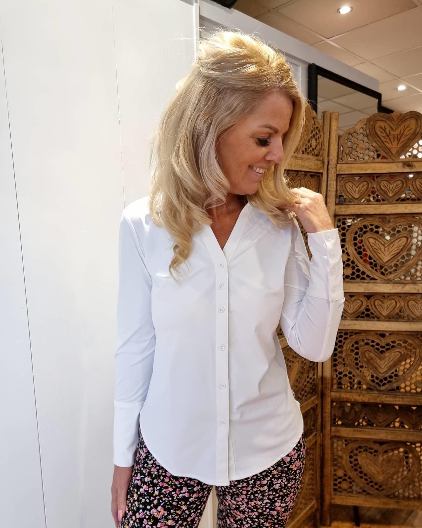 My Pashion My Pashion blouse Shantionea white