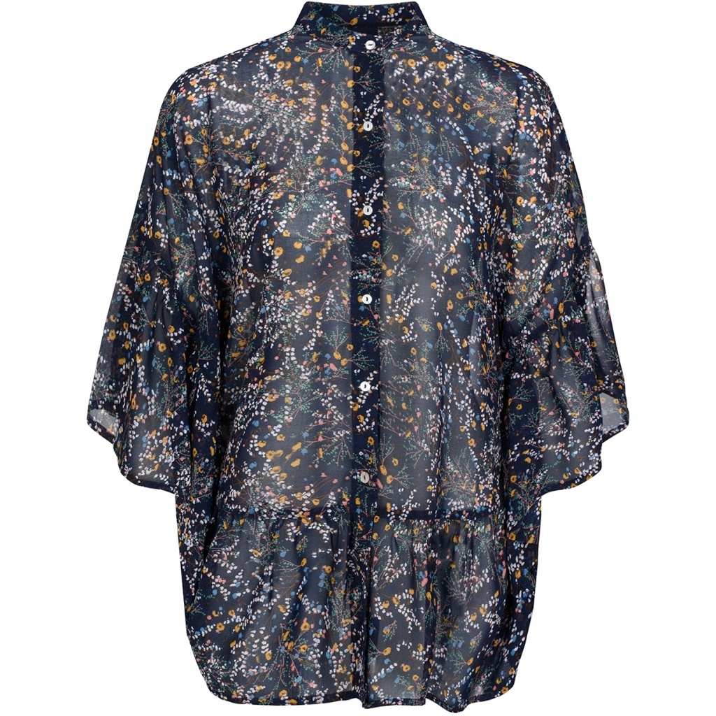 One Two Luxzuz One Two Luxzuz blouse Gladis navy