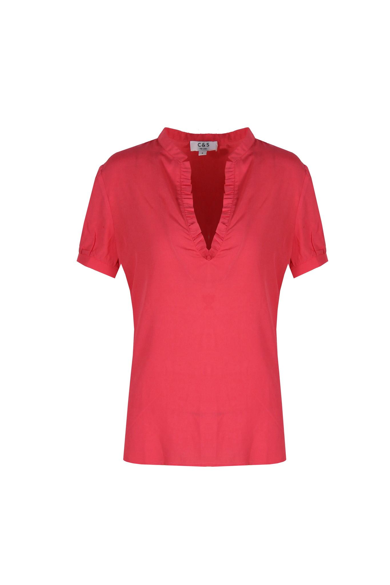 C&S The label C&S The label blouse Marjet rood