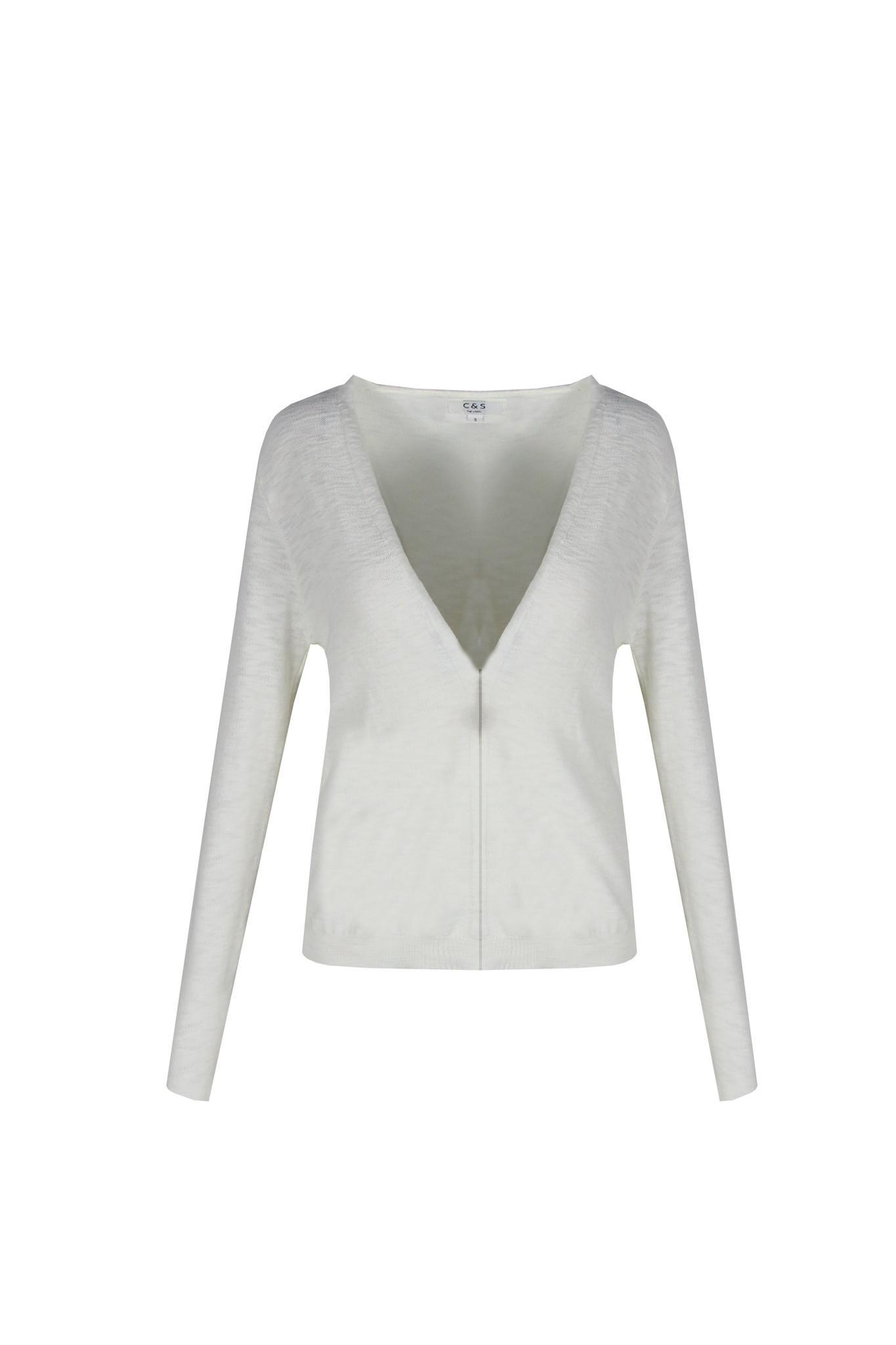 C&S The label C&S The label vest Marlette off-white