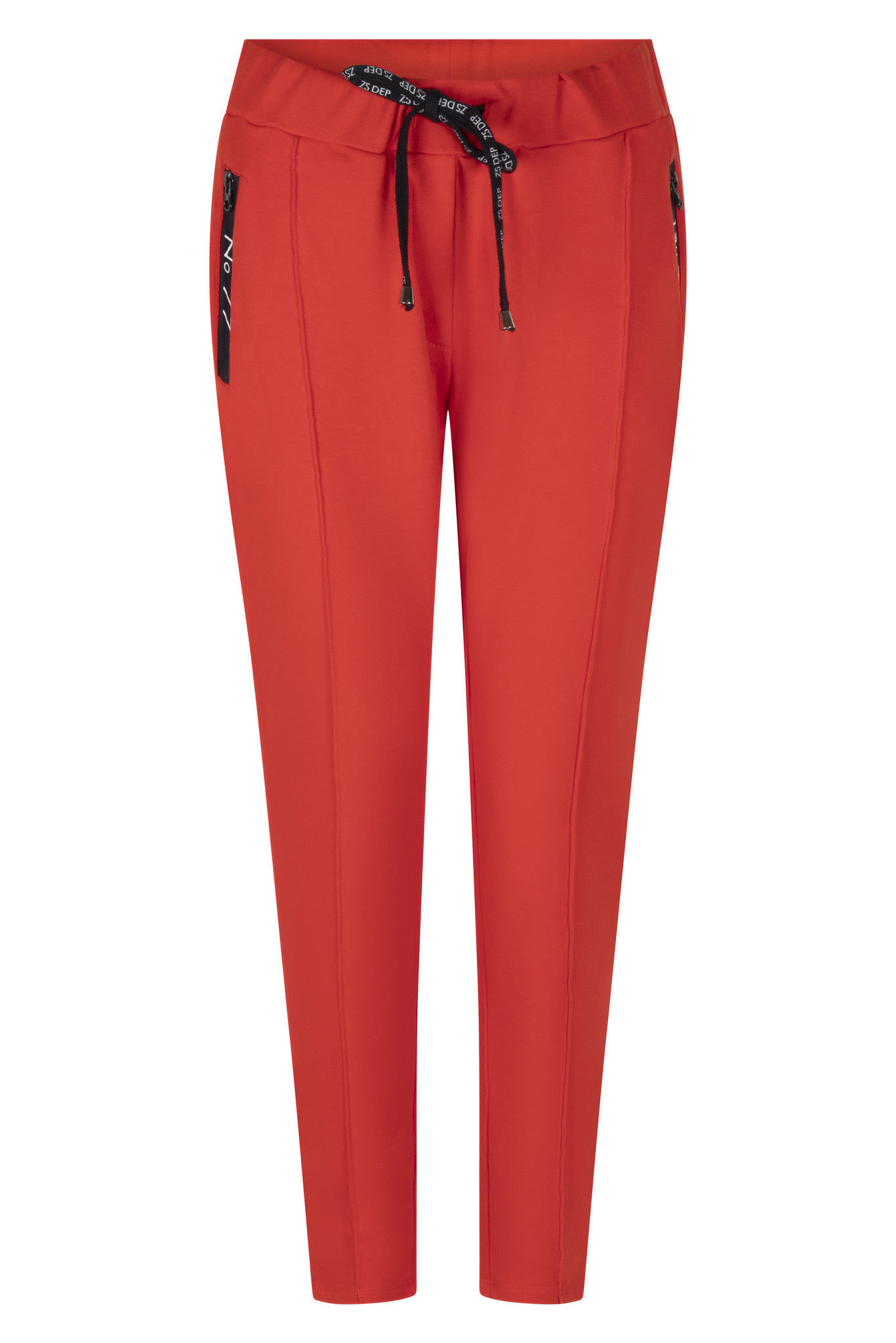Zoso Zoso Hope broek with techzippers Summer red