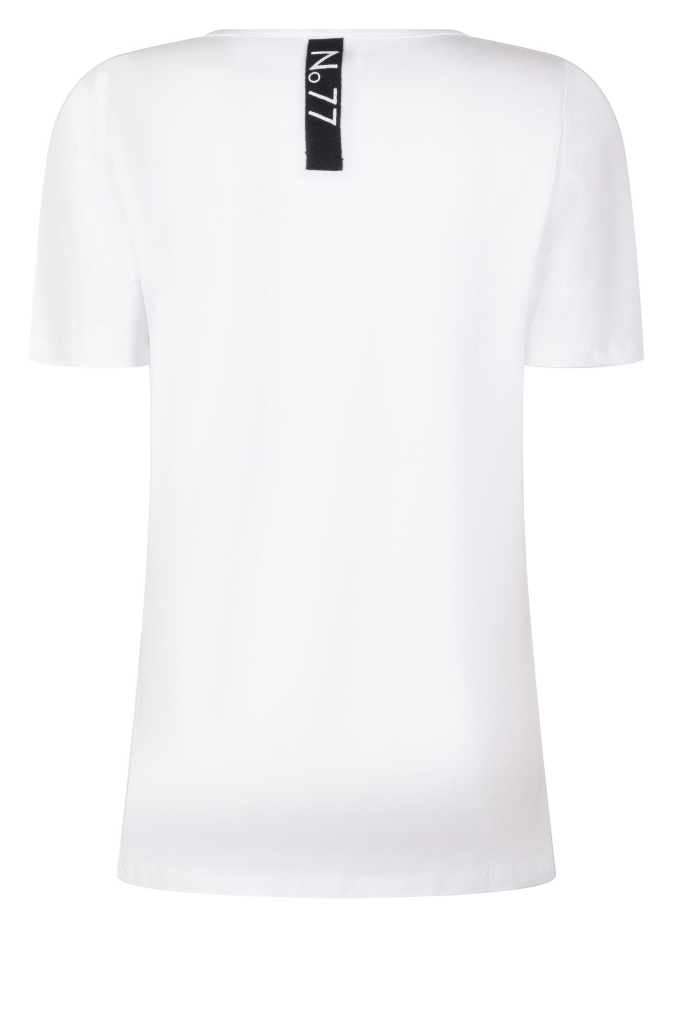 Zoso Zoso Megan T shirt  Camouflage print/wit