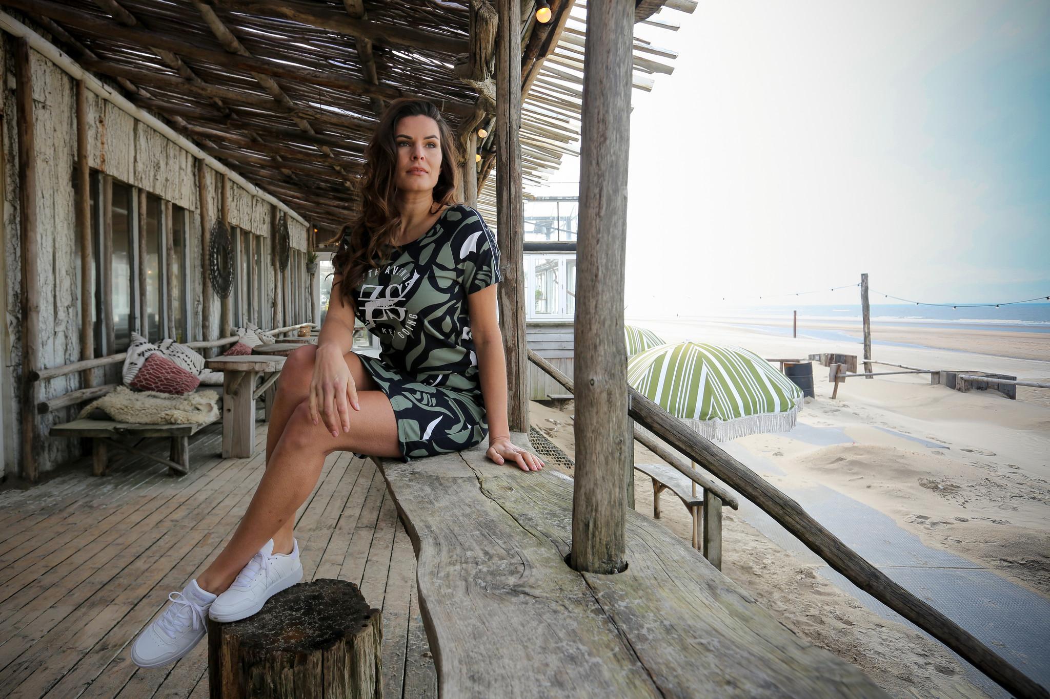 Zoso Zoso Helma allover printed  dress multicolor