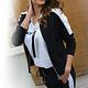 Zoso Zoso Fresh sporty jacket with details navy/white